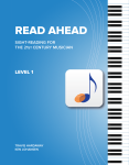 Read Ahead Level 1 Cover